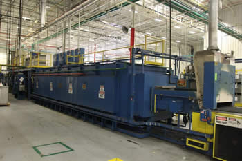 JL Becker Co. 36 inch Wide Mesh Belt Brazing Furnace Line