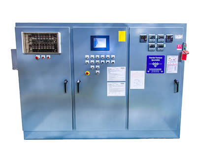THREE DOOR ELECTRICAL PANEL PLC/COMPUTER CONTROLLED
