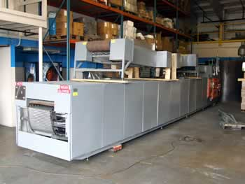 Watkins-Johnson Continuous Mesh Belt Furnace